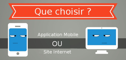 application mobile, site internet, web marketing
